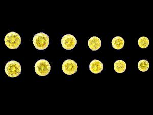 Natural Yellow Graduated