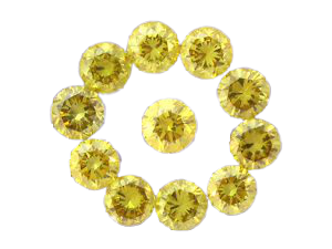 Natural Yellow Rounds