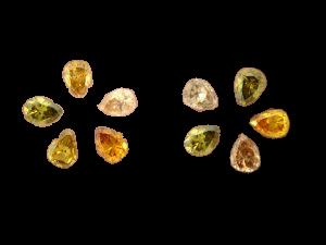 Natural Color Diamonds Pear