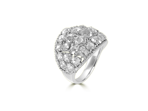 DIAMOND RING IN 18K