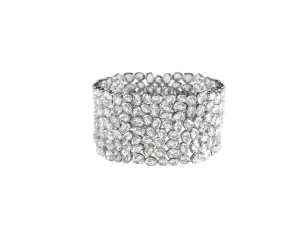 BRACELET DIAMOND ROSE CUT IN 18K